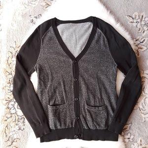 EXPRESS Heather Tomboy Cardigan Sweater